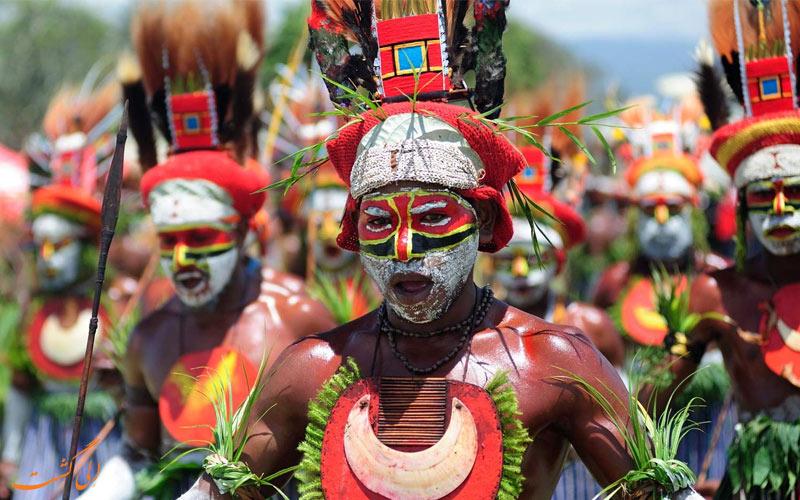 پاپوآ گینه نو در اقیانوسیه
