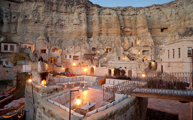 هتل های صخره ای در کاپادوکیا