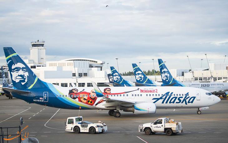 خطوط هوایی آلاسکا – اعجوبه ها