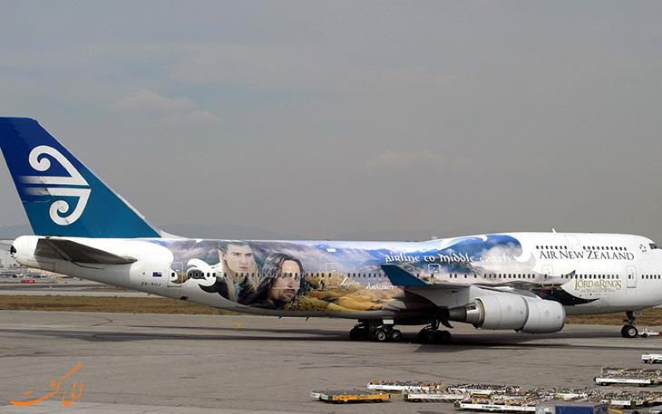 خطوط هوایی نیوزیلند – ارباب حلقه ها