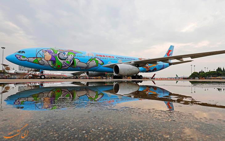 خطوط هوایی شرقی چین – داستان اسباب بازی