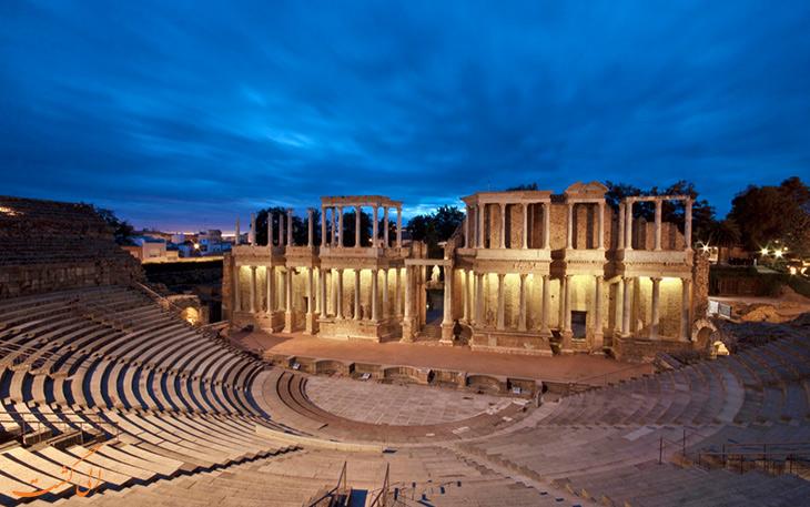 آمفی تئاتر رومی مریدا