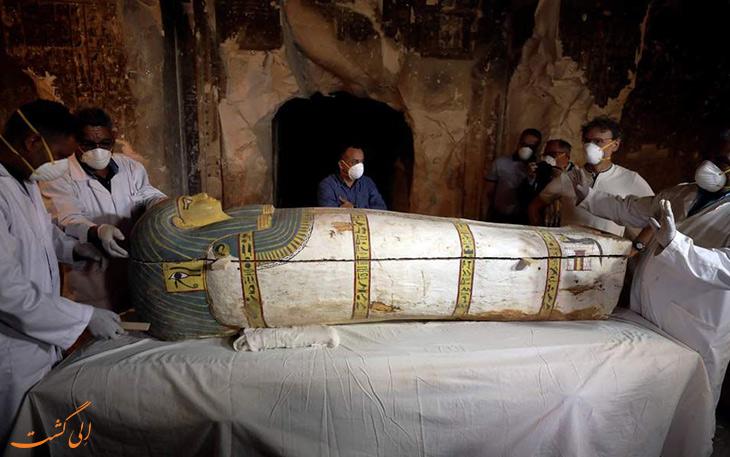 کشف مومیایی زن مصری