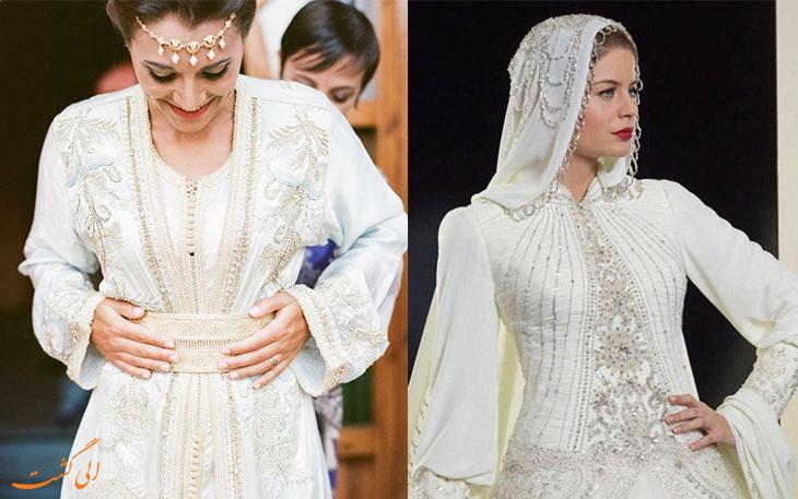 لباس عروس مراکش