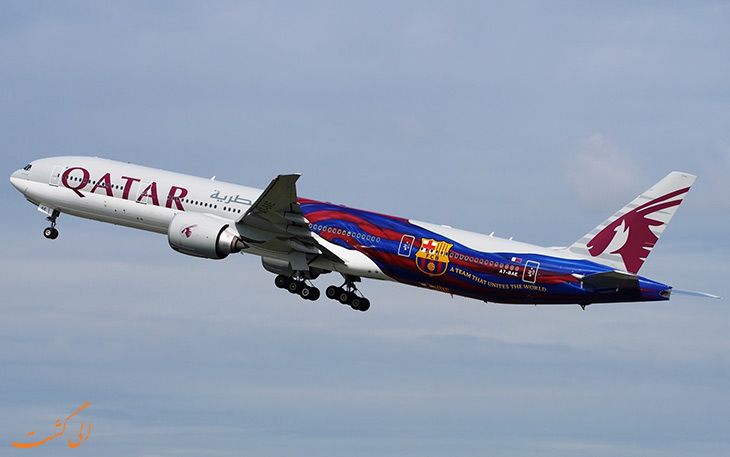 خطوط هوایی قطر – بارسلونا