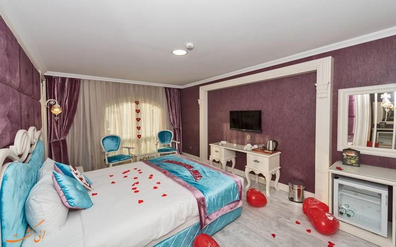 هتل 4 ستاره مارناس استانبول