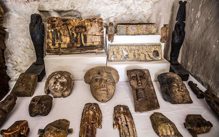 کشفیات باستان شناسی در مصر