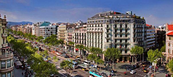 ، معروف ترین خیابان بارسلون