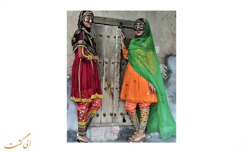 لباس زنان هرمزگانی