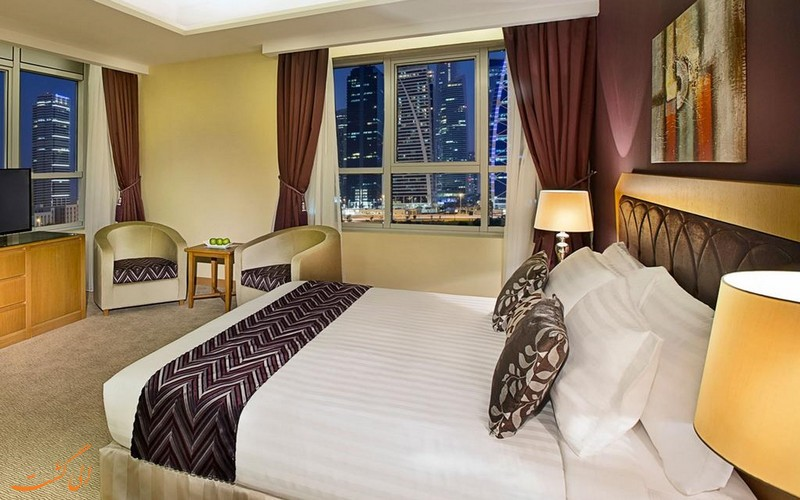 هتل آرمادا بلوبی در دبی