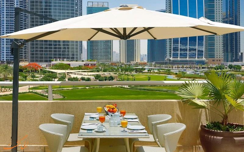 هتل 4 ستاره آرمادا بلوبی دبی
