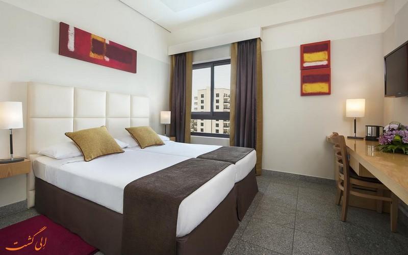 هتل 3 ستاره عربین پارک دبی