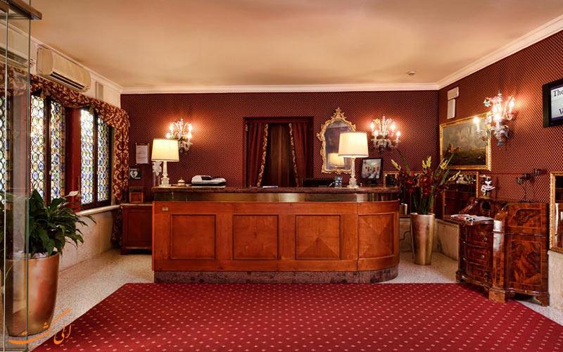 موقعیت هتل کا الویس ونیز