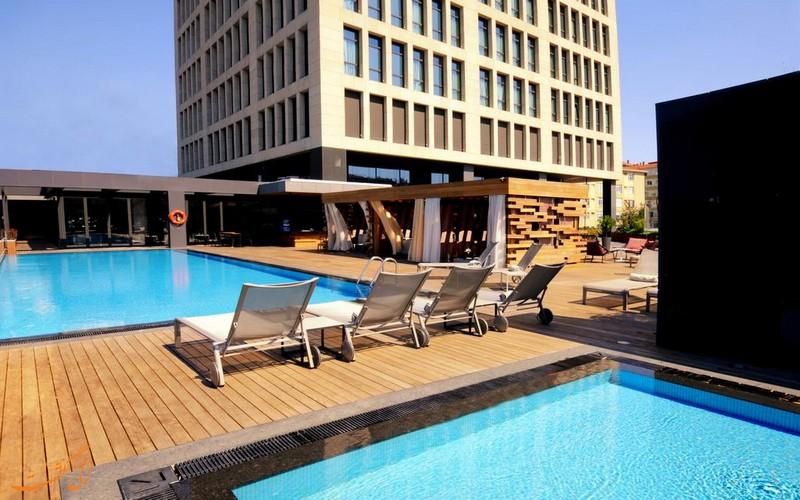 هتل 5 ستاره مریدین اتیلر استانبول