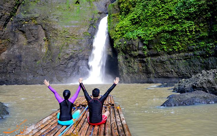 آرامش در آبشار پاگسانجان
