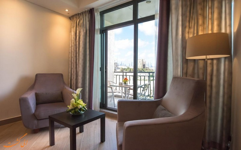 هتل 3 ستاره عربین پارک در دبی