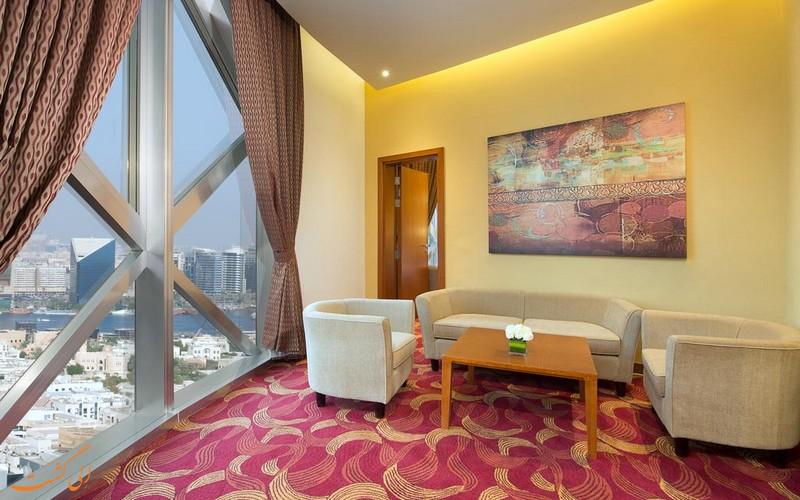 هتل 4 ستاره سیتی سیزنز تاورز دبی