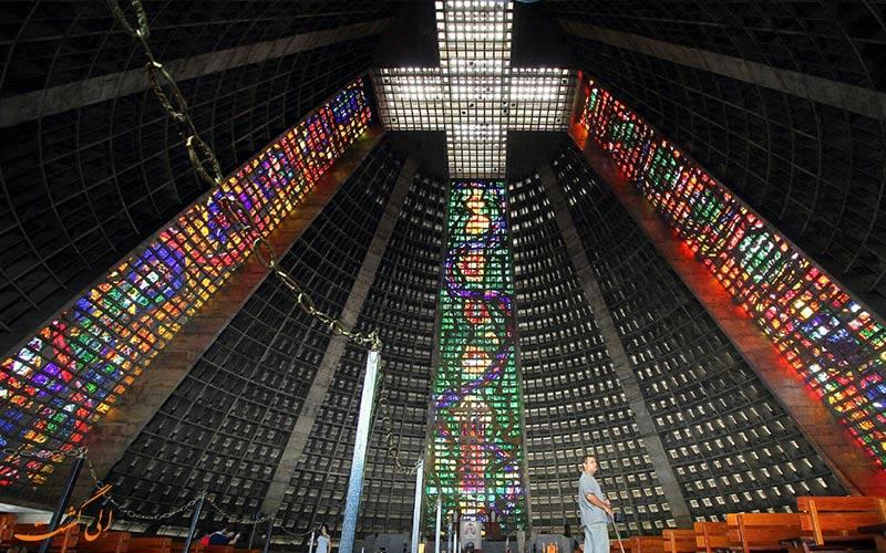 کلیسای جامع سنت سباستین، برزیل | Metropolitan Cathedral of Saint Sebastian