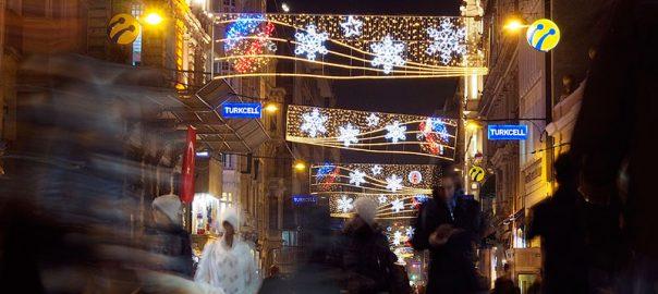 جشن کریسمس در استانبول به چه شکلی برگزار می شود؟