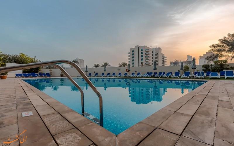 هتل عربین پارک در دبی