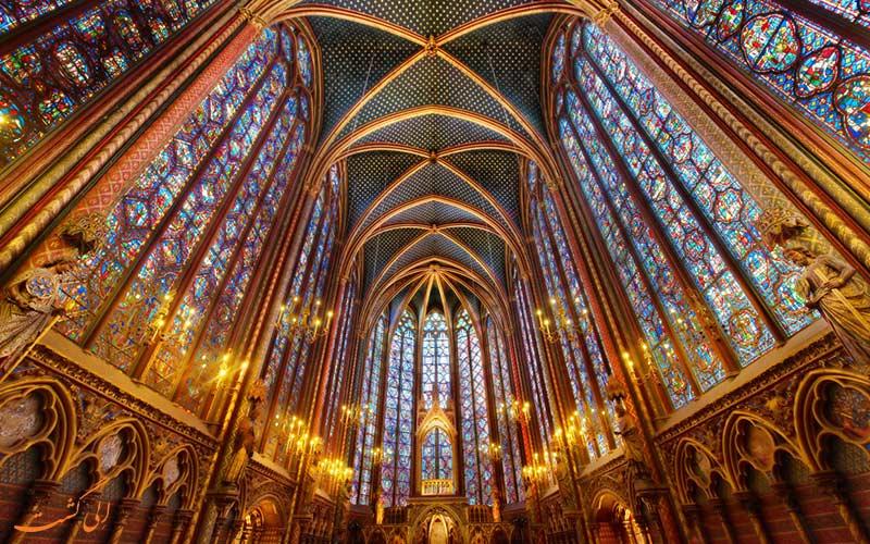 کلیسای سنت شپل، فرانسه | Sainte-Chapelle