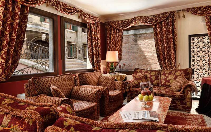 فاصله ی هتل کا الویس ونیز تا جاذبه های ونیز