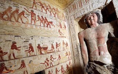 کشف مقبره 4400 ساله در مصر