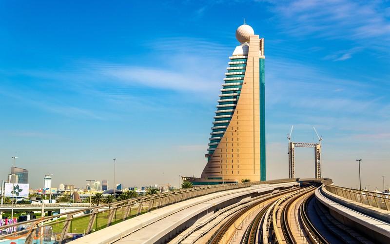 برج اتصالات دبي