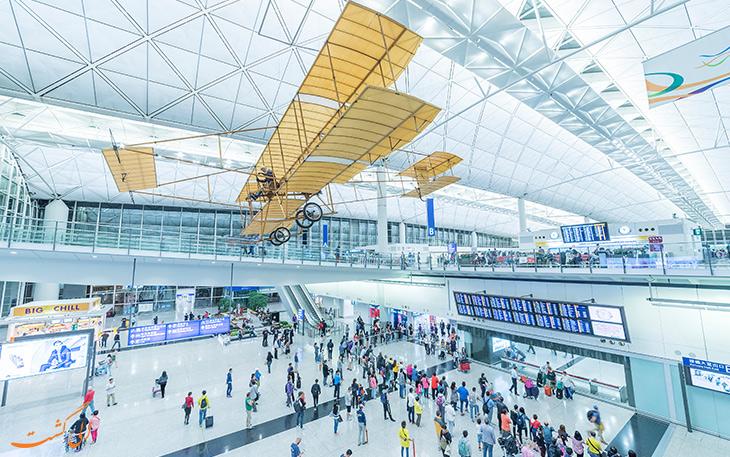 فرودگاه بين المللي هنگ کنگ