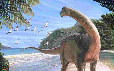 کشف گورستان دایناسورها