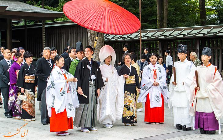 لباس عروس ژاپنی