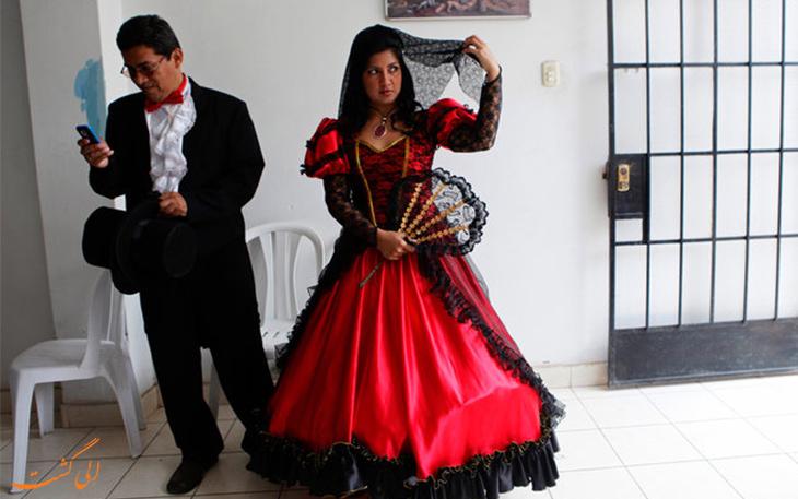 لباس عروس پرو