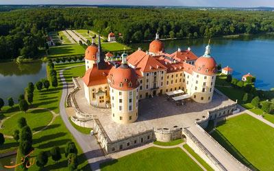 قصر موریتزبرگ ساکسونی