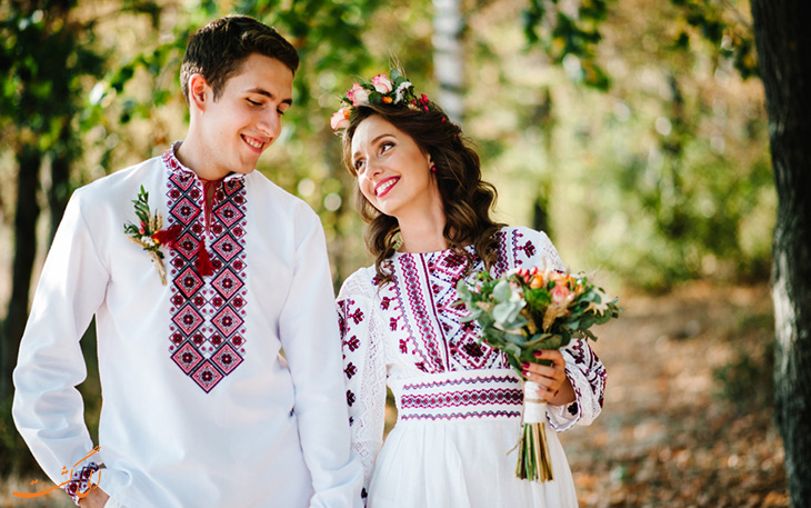 لباس عروس سنتی اوکراین