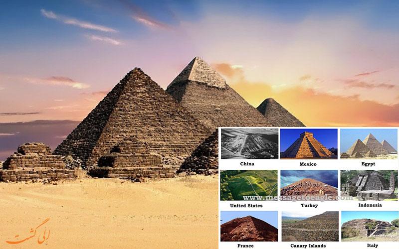 شباهت بین تمدن های باستانی و اهرام مصر