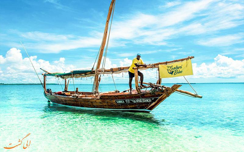 جاذبه های زنگبار تانزانیا-قایق های توریستی