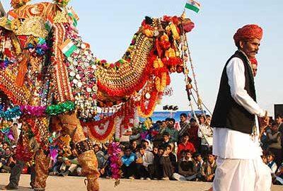 جشنواره شتر بیکانر در راجستان