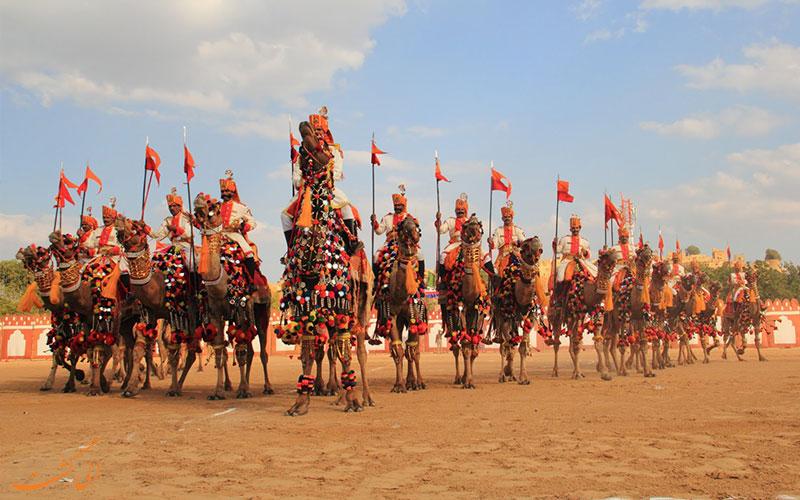 ارتش شتر سواران هندی