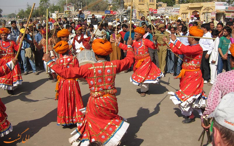 رقص های محلی راجستان هند