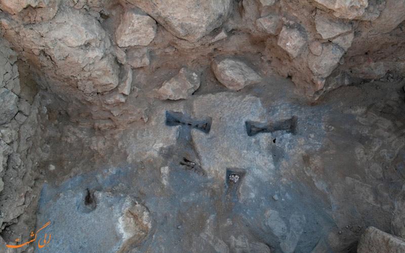 دلیل استفاده از گیره های فلزی و شباهت بین تمدن های باستانی