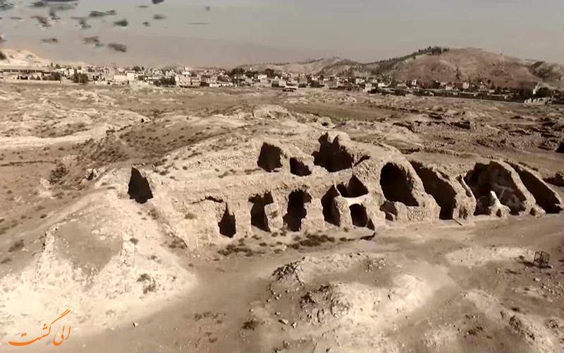 شهر-باستانی-سیمره در دره شهر