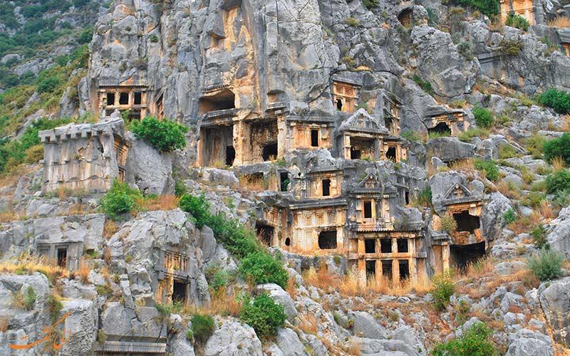 شهر باستانی لیکیه ترکیه
