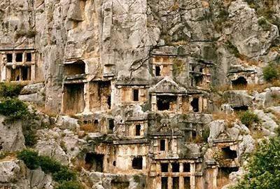 شهر باستانی لیکیه ترکیه-الی گشت
