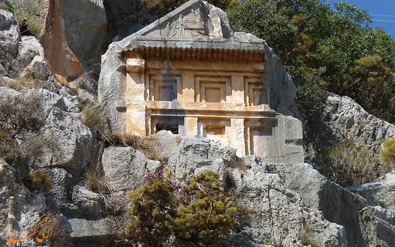 مقبره های لیکیه ترکیه