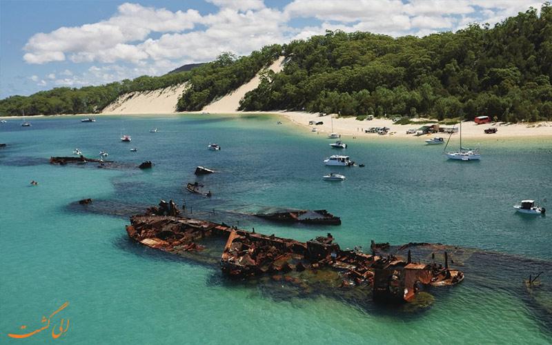 نام کشتی ها- لاشه های کشتی تانگالوما استرالیا