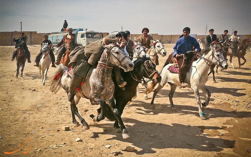 مراسم بزکشی افغانستان در نوروز