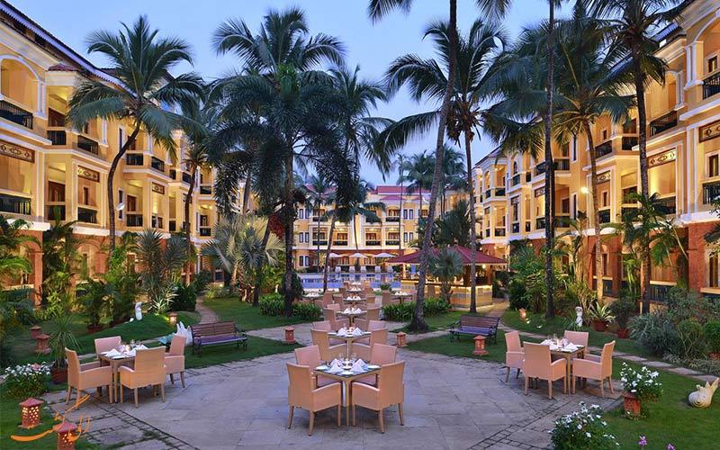 هتل کانتری این-بهترین هتل های 5 ستاره گوا