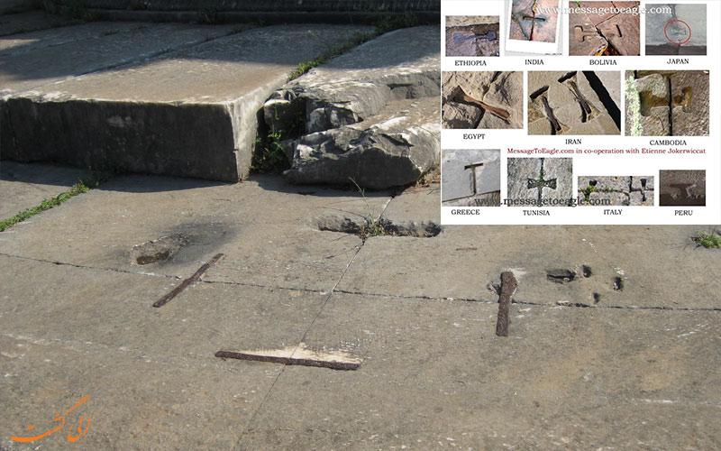 گیره های فلزی-شباهت بین تمدن های باستانی
