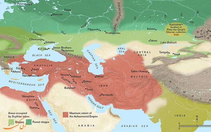 امپراتوری هخامنشیان
