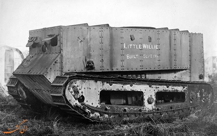 تانک نمونه ویلی کوچک در جنگ جهانی